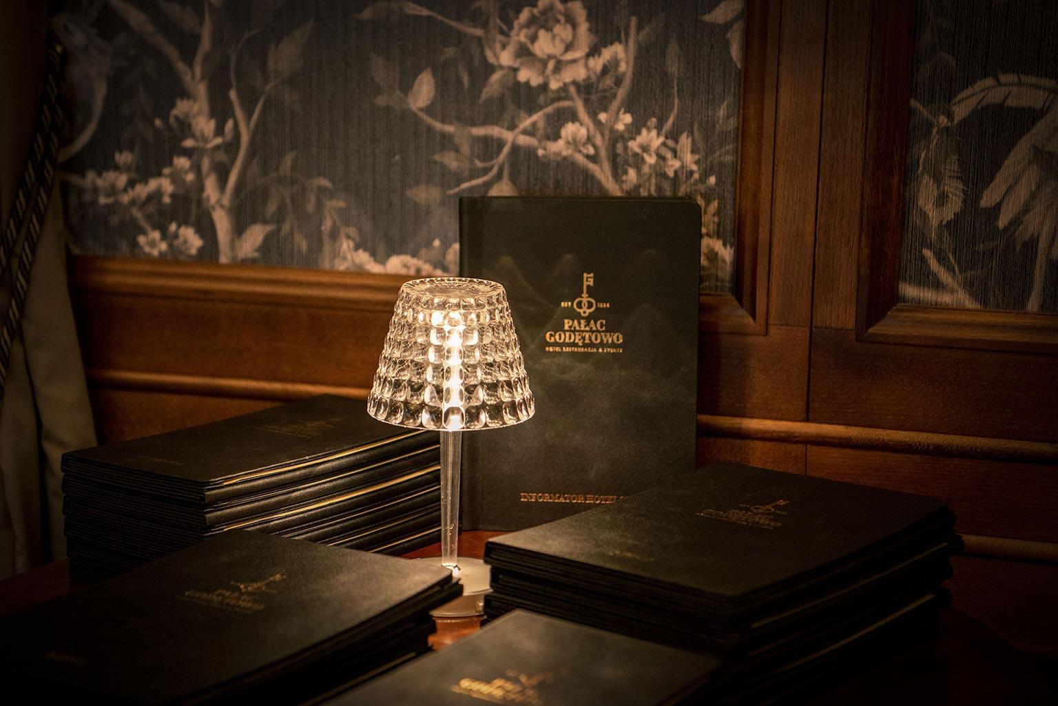 Lobby restauracji Pałacu w Godętowie